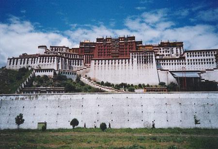 布达拉宫 西藏风景图片 美景西藏旅游网 tibet