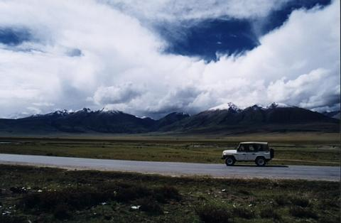 西藏照片:on the way to tibet